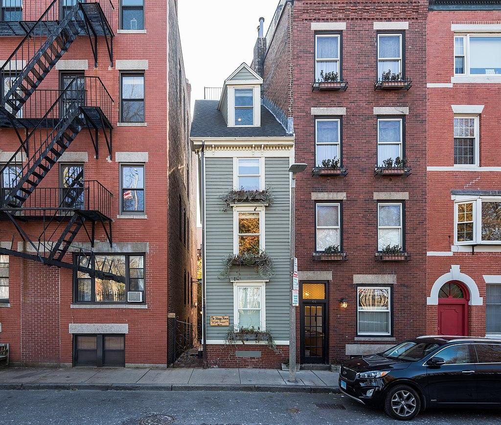 Skinny House, a spite house in Boston.