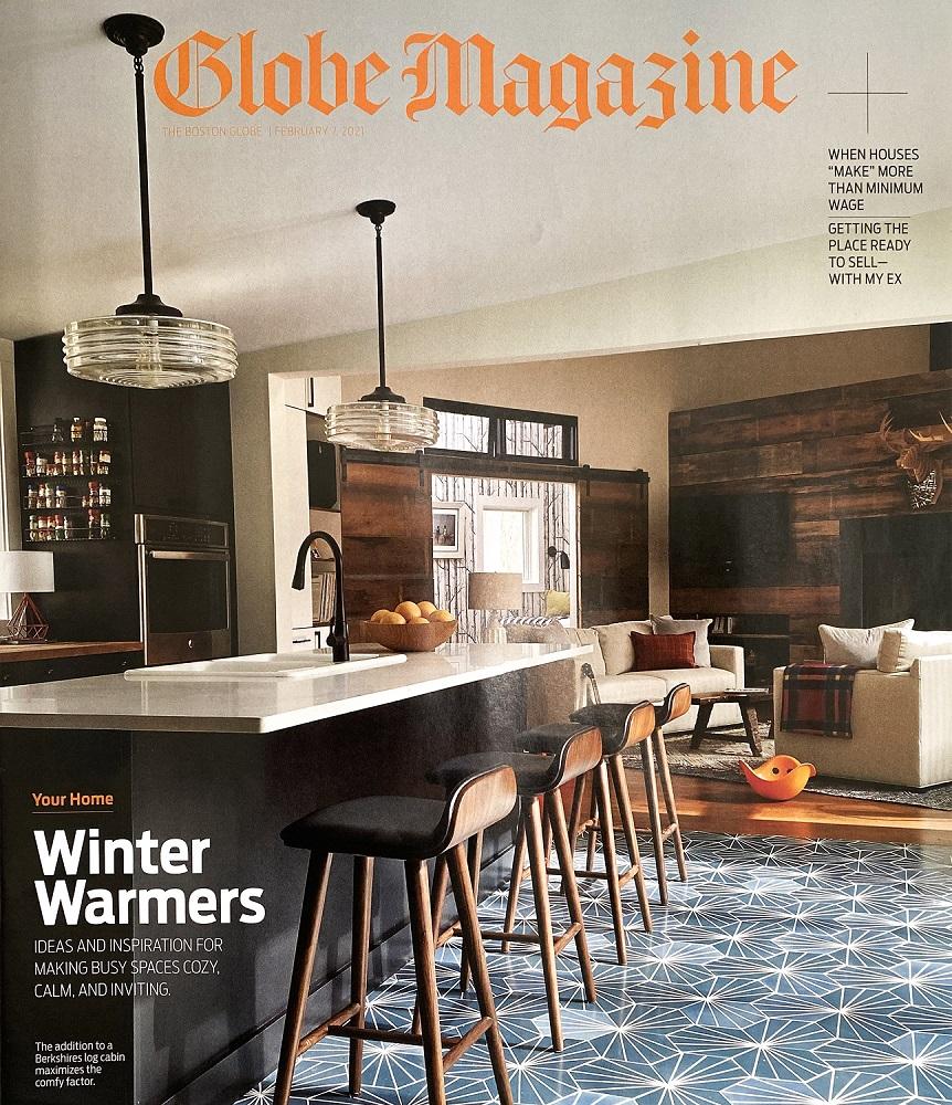 Boston Globe Magazine Acampora Interiors