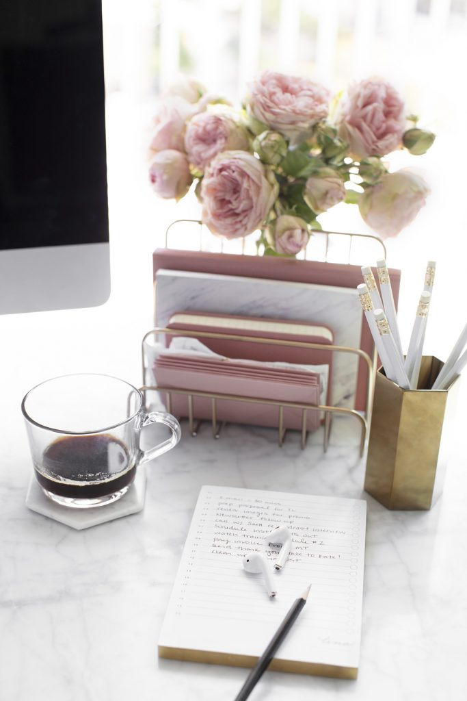 Personalized objects in home office design