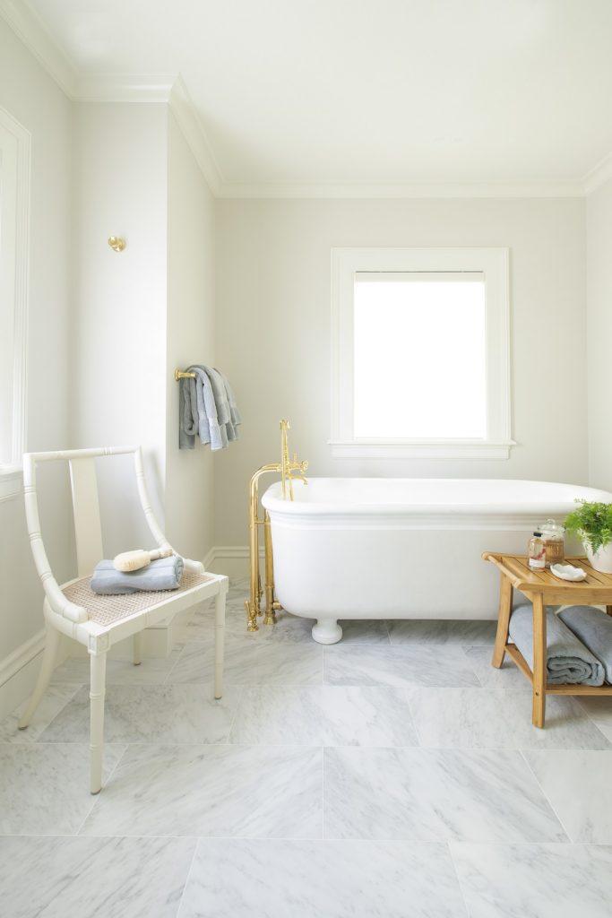Vintage inspired master bathroom for master bathroom design ideas