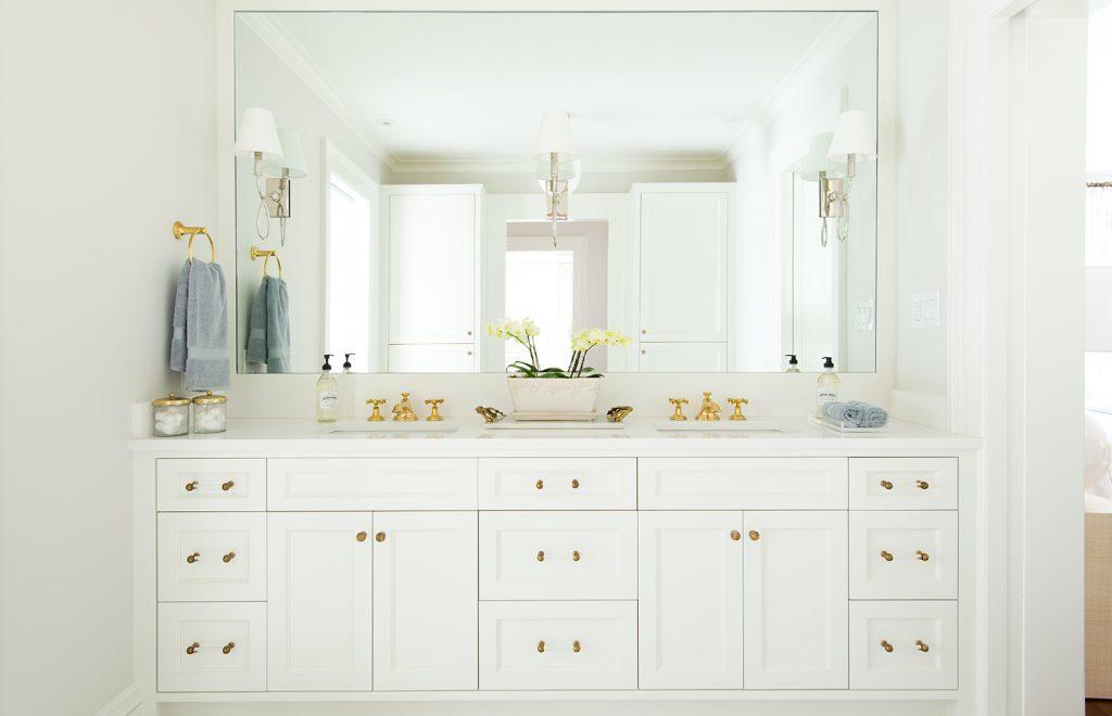 Double vanity for bathroom design ideas