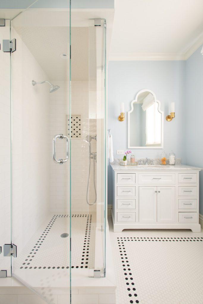 Glass shower doors for bathroom shower ideas